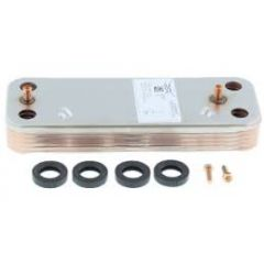 Baxi 10 plate h/e with seals and screws 7225724